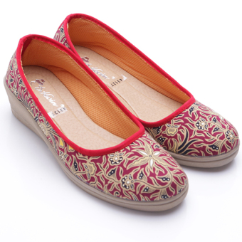 Harga Dr. Kevin Women Wedges Shoes 43127 Maroon