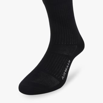 Harga Airwalk Nevin Quarter Unisex Socks - 1 Pair - Hitam