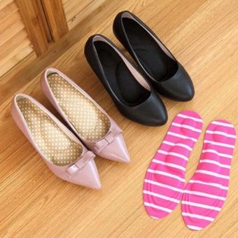 YingWei 1 pasang pereda nyeri perawatan kaki 3D Arch spons pemijatan sol sepatu .