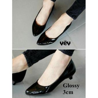 Harga R2Paris Mini Heels Simply Dirly Hitam