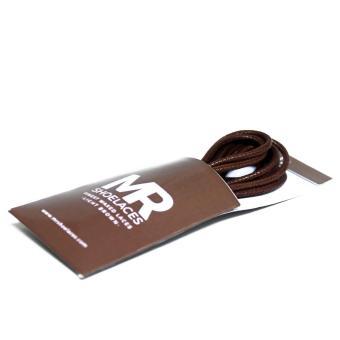 Gepeng 6 7mm Coklat Kayu Mr Sholeaces Tali Sepatu Lilin Bulat Big 5mm .