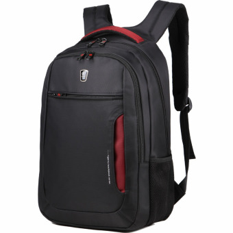 Harga Tigernu Multifunctional Black Red Laptop Bag 17.3 Laptop Backpack School Bag - Black