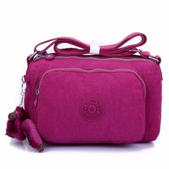 New Kipling style Women's The single shoulder bag canvas Inclined shoulder bag Travelling bag(Red) - intl, 431.000, Update. Men's Canvas Messenger ...