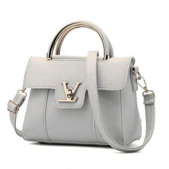 Harga Vicria Tas Branded Wanita - Korean High Quality Bag Style - GREY