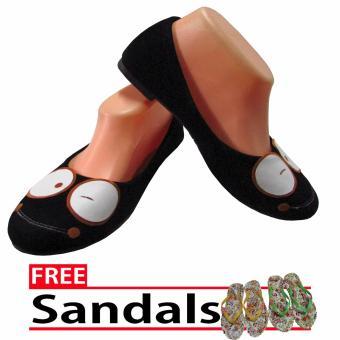 harga sepatu balet. Woman Choice Flat Shoes Diatello 03- Sepatu Balet -Hitam Free