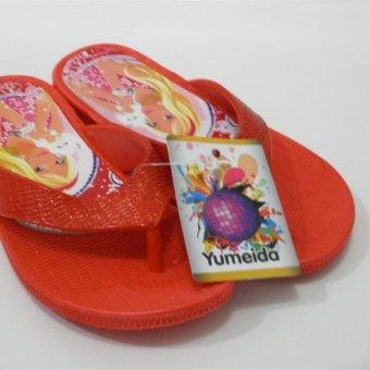 ... Sandal Jepit Anak Perempuan Yumeida B 21 G Merah Size 28