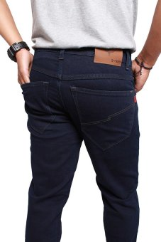 ... 2ndRED 136310 Jeans Slim Fit Straight - Navy - 5