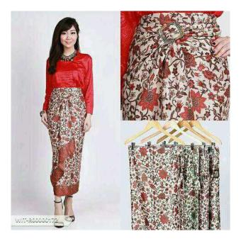 SB Collection Rok Maxi Lilit Ardilla Batik Long Skirt-Multicolor