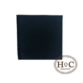 Harga Houseofcuff Pocket Square Black