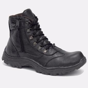 Harga Sepatu Safety Boots Tracking Leather Berlin