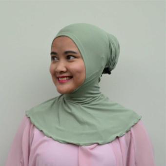 Mysha Hijab Ciput Antem Kancing Jersey by ELC Hijab Fashion 2 .