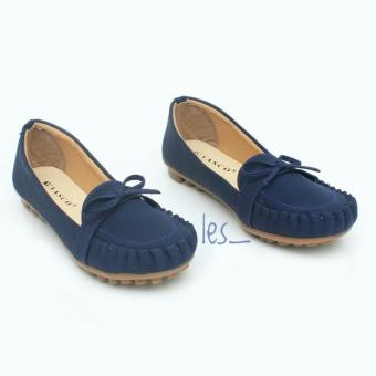 Harga LES_FLATSHOES VASCO PITA BY01 - NAVY BLUE