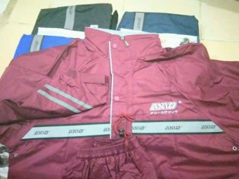 Harga Jas Hujan Axio Europe Silver 882 2016 Raincoat 100% Original