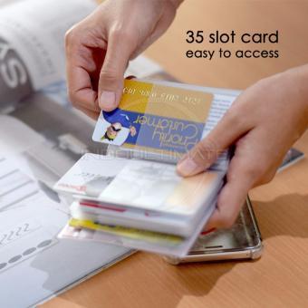 35 Slot PREMIUM Card Wallet/Dompet Kartu ATM/credit card OR .