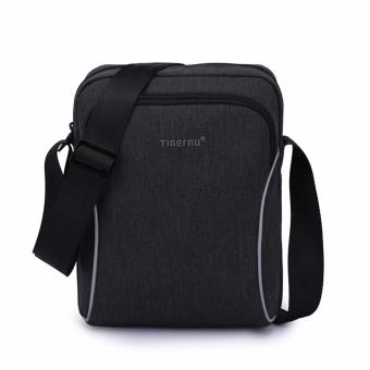 Harga Tigernu Messenger Shoulder Bag For Phone&Wallet 5135(Black Grey) - intl