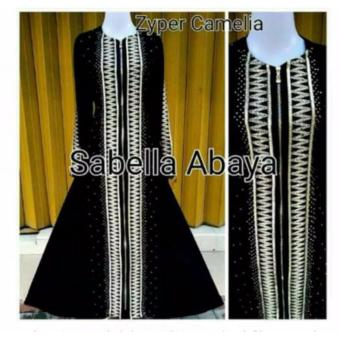 Harga MBV Dress Muslim Sabela Abaya Bordir Camelia