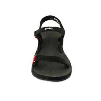Omiles Gisele Sandal wanita Hitam-Merah - 3 .