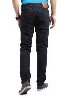... 2ndRED 136305 Jeans Slim Fit Straight - Hitam - 3 ...