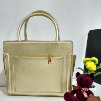 Harga Jims Honey - Tote Bag Wanita Import - Alona Bag (Gold)
