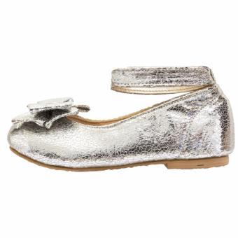 Minetha Kid Shoes Sepatu Anak Perempuan Balerina Flat Usia 1-12 tahun .