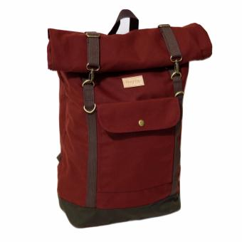 Harga Ransel Firefly Raven Maroon Rolltop Backpack