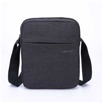 Harga Tigernu Men Messenger Bag Waterproof Shoulder Bag Business Travel Casual Bag(Black Grey) - Intl