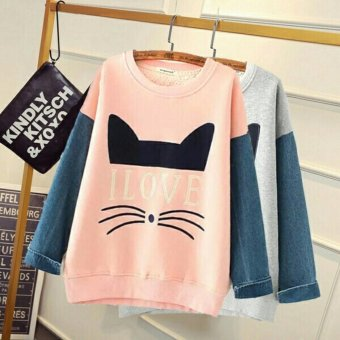 Harga Queenshop - LJ LC Kanza Cat - Grey