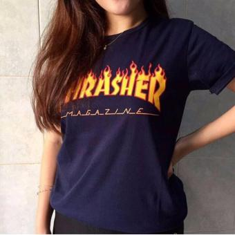 Harga Tumblr tee THRASHER, Navy