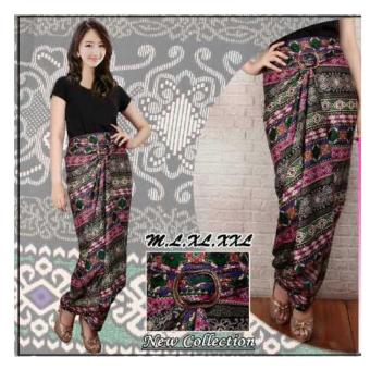 Harga SB Collection Rok Lilit Batik Anaya-Pink