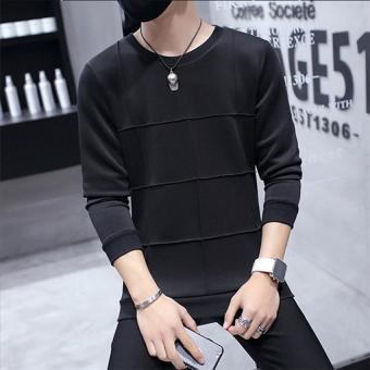 2017 High Quality Man 's quality Korea style fashion clothes high clothes M( black