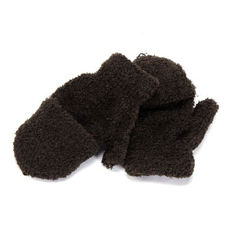 sarung tangan panjang rajut hitam tanpa jari manset. Source · Musim Dingin .
