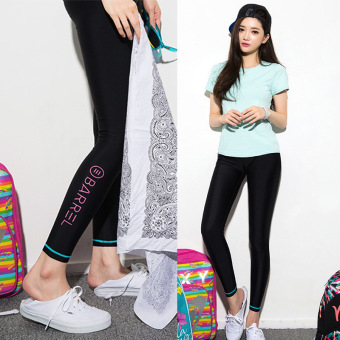 360dsc Athleisure Unique Letter Printed Leggings Tights Active Source · Causal Fast Dry Running Training Yoga Dance Long Letter Printing Pants Black 1105
