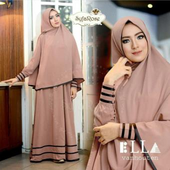 Harga Suki Dress Hijab Syfarose - Brown