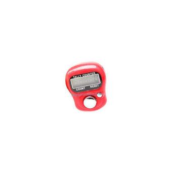 Tally Counter - Penghitung / Tasbih Digital - Merah