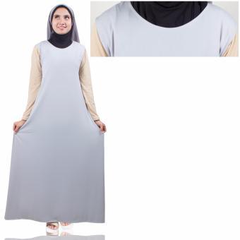 Harga Termurah Najibah Syari White Baju Muslim Wanita Warna Putih Source · Yovis Gamis Short Sleeve