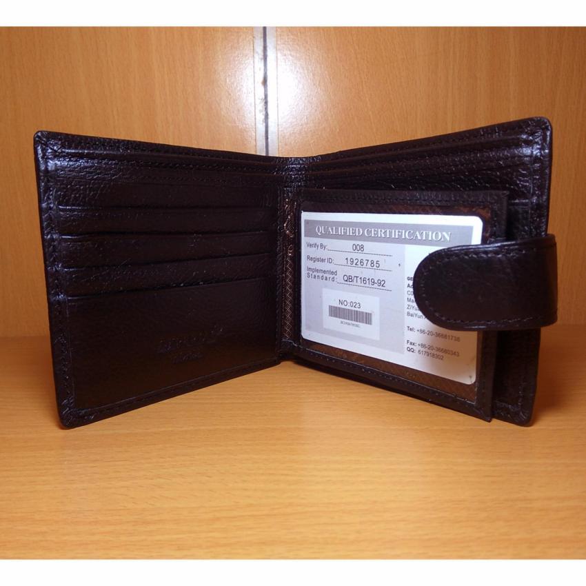 Sohoku Dompet Pendek Pria Kulit R6122 Hitam Daftar Harga Terbaru Source · Imperial Horse Fashion Wallet Dompet Pria ZC 19263 Kulit Asli Import Original