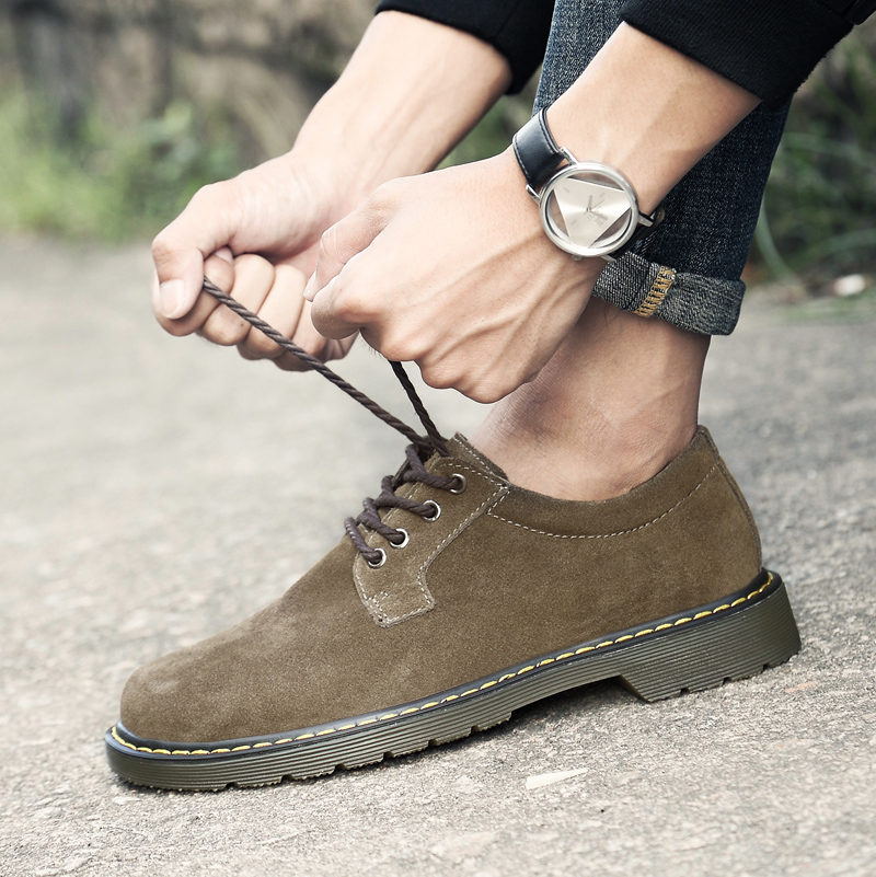 Kelebihan Musim Gugur Ukuran Besar Baru Sepatu Sepatu Pria Martin Source · Flash Sale Inggris pria ukuran besar Martin sepatu sepatu besar Khaki