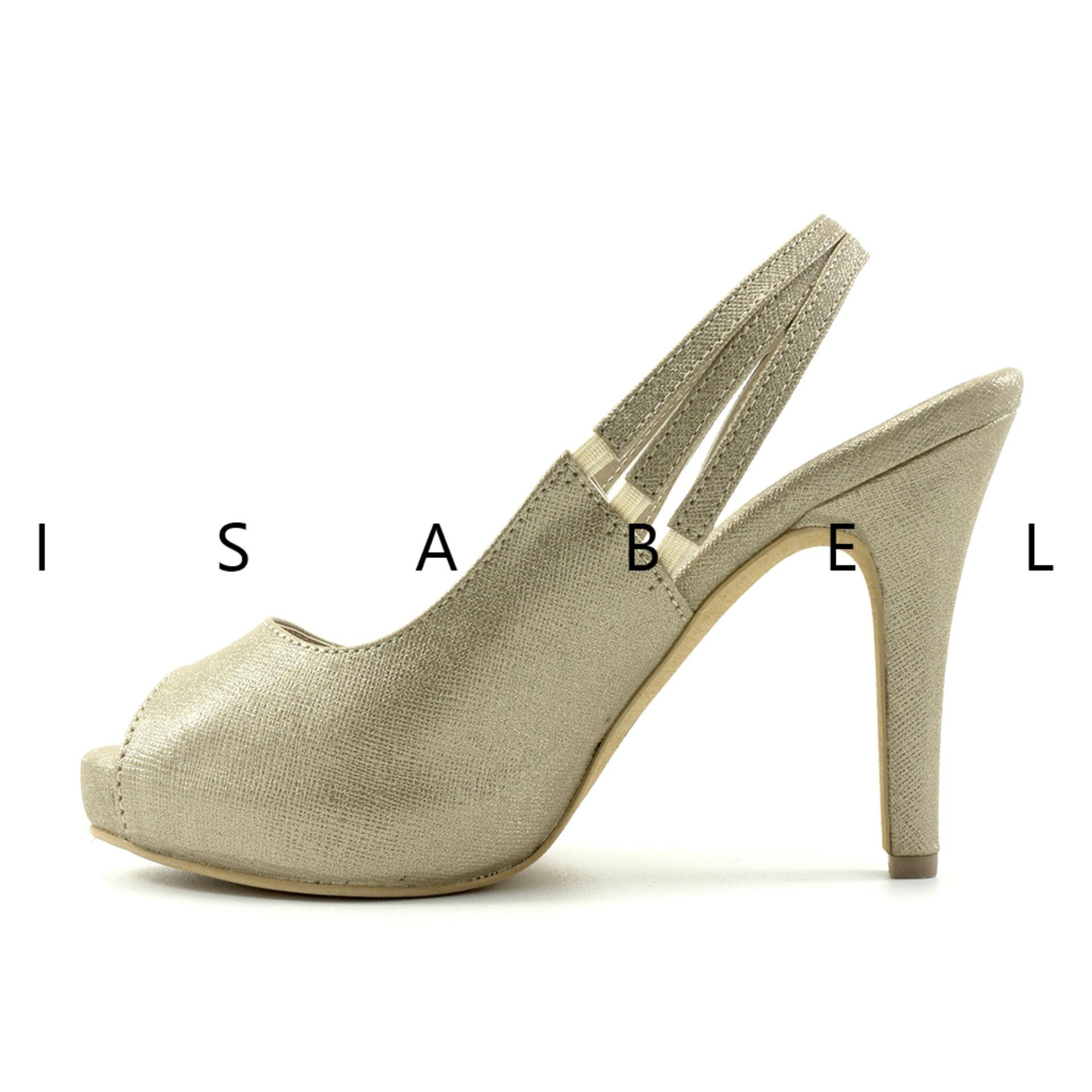 Brenda Heels Hitam Source · Isabel Sepatu Wanita Hak Tinggi GISELE Heels Gold .