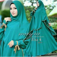 jakarta couple - dress muslim elsa TOSCA coco( dress + bergo)