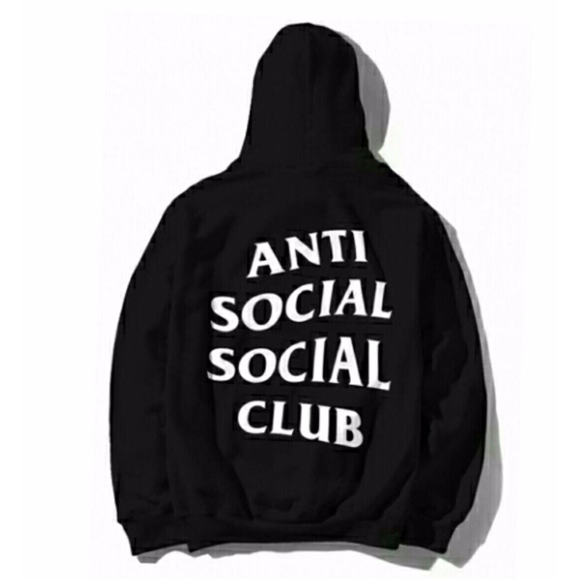 Flash Sale Jaket anti social club black