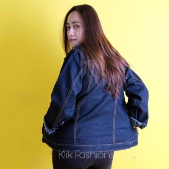 Jaket Jeans Denim Cewe Birdong Regular Slim Best Seller - 2