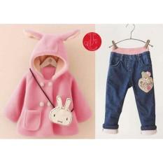 J&C FJ-St kid Jaket Bunny Anak / Jaket Anak / Hoodie Anak / Jaket Kelinci / Hoodie Kelinci