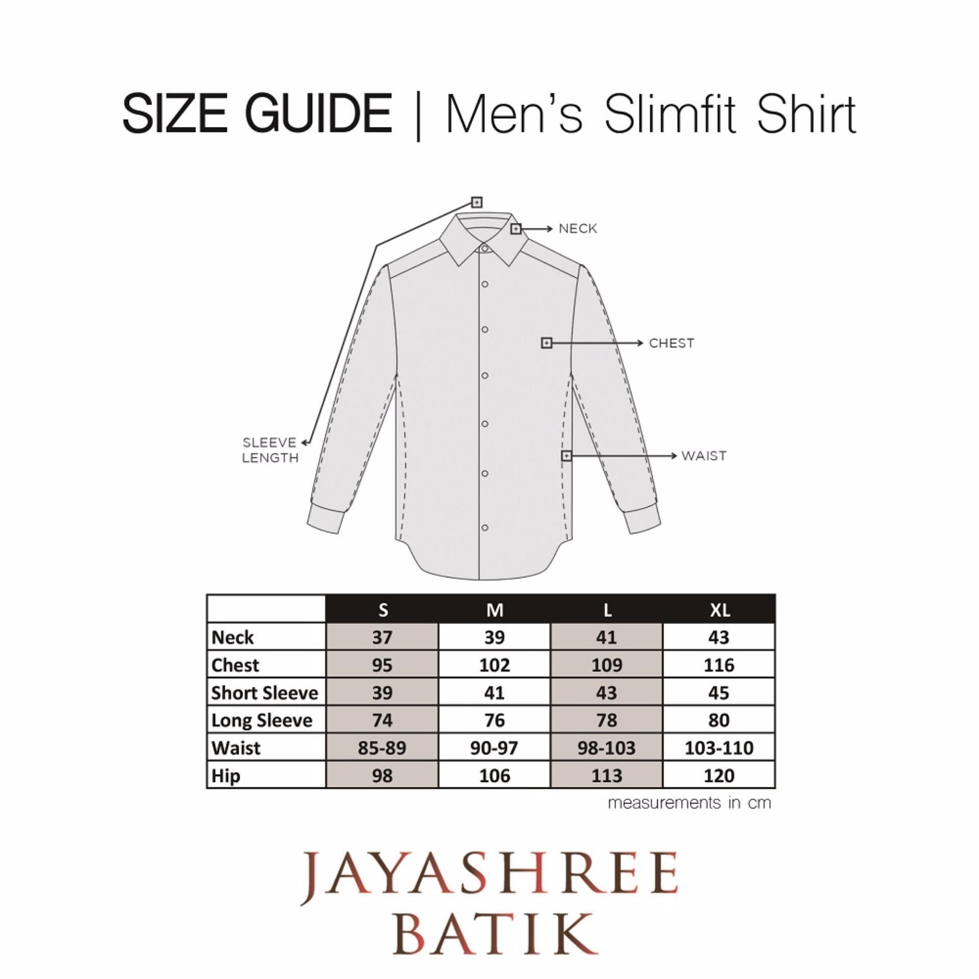 Jayashree Batik Kemeja Slimfit Padma Brown Long Sleeve Men Daftar Rafa Short Pria Hitam S Naraya Teal Shortsleeve