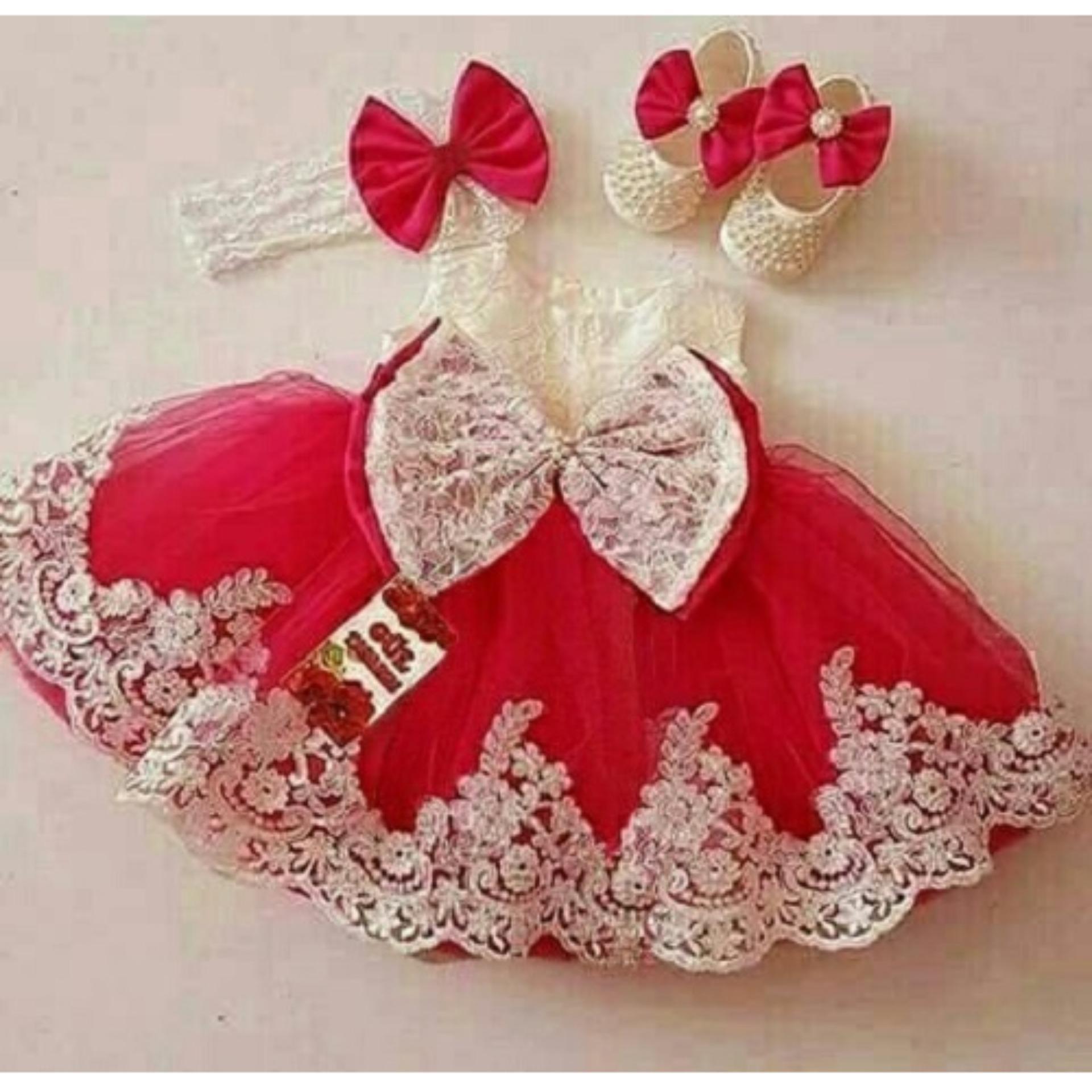 Jc  - Dress Anak Princess / Baju Anak Murah / Pakaian Anak Perempuan