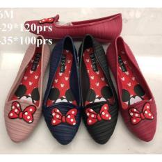 Jelly Shoes - Sepatu Jelly Flat & Slip-on Anak Perempuan 5 - 10 thn VIO ID 116