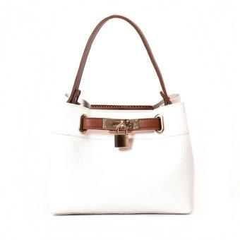 Jianyue perempuan musim gugur baru tas bahu tas tas (Putih)