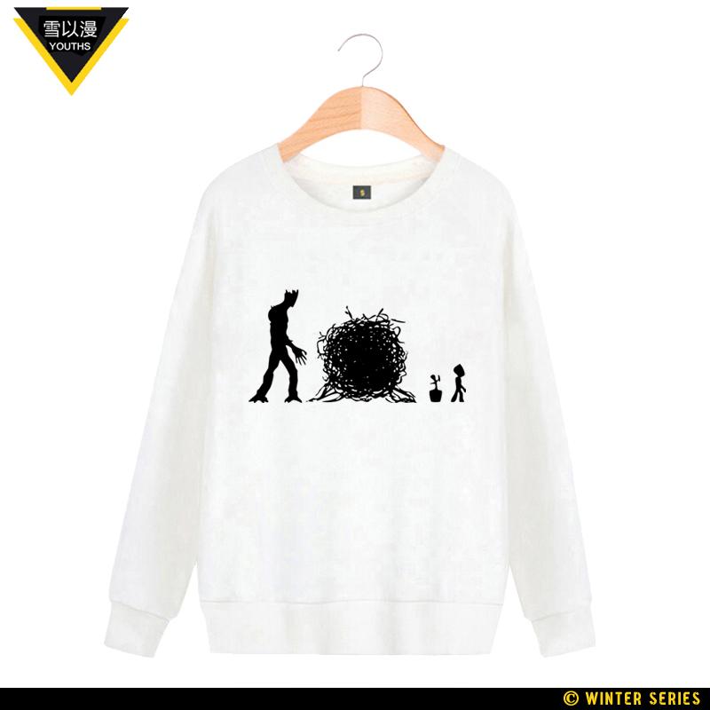 ... lengan panjang t-shirt (Hijau gelap). Source · Cheap online Jing ge salju pohon Musim Semi dan Gugur lindung nilai sweater (Putih 2