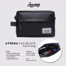 Journey Tas Kosmetik / Hand Bag / Pouch / Tas Gadget Journey Athena Full Black