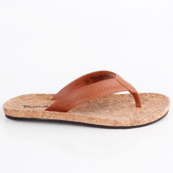 Jual Murah Sandal Jepit Karet Pria BLACKKELLY - LZA 847 | WARNA : COKLAT | BAHAN