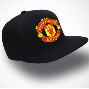 Just Cloth Topi Snapback Manchester United - Hitam